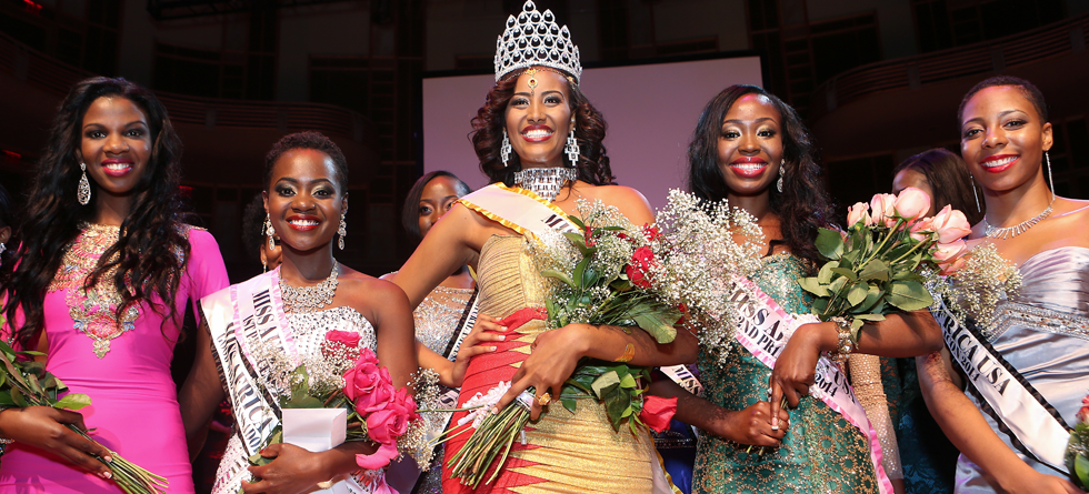 Miss Africa 2014 Top 5