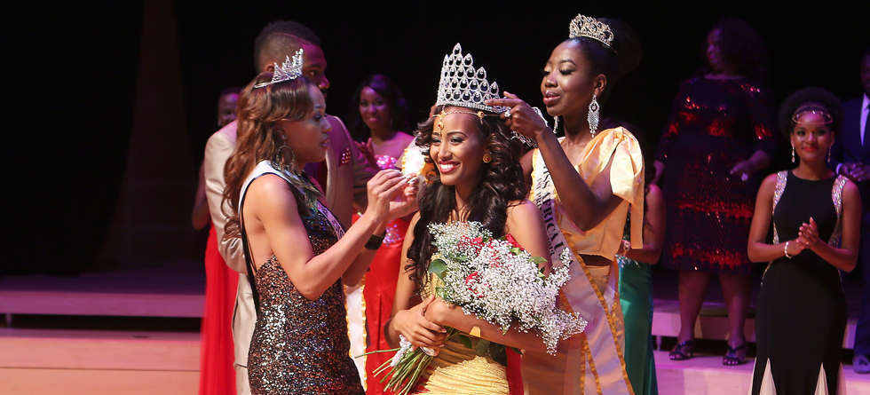 Crowning of Miss Africa USA 2014