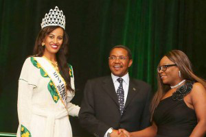 Miss Africa 2014, The President Of Tanzania and Lady Kate.