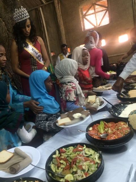 Miss Africa USA Helping  Orphans in Ethiopia