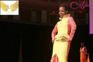 Saying a Big Thank You to Eleviv Textile for Sponsoring Miss Africa USA