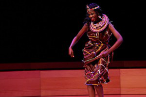 Miss Africa USA Pageant  Traditional African Girl Showcase