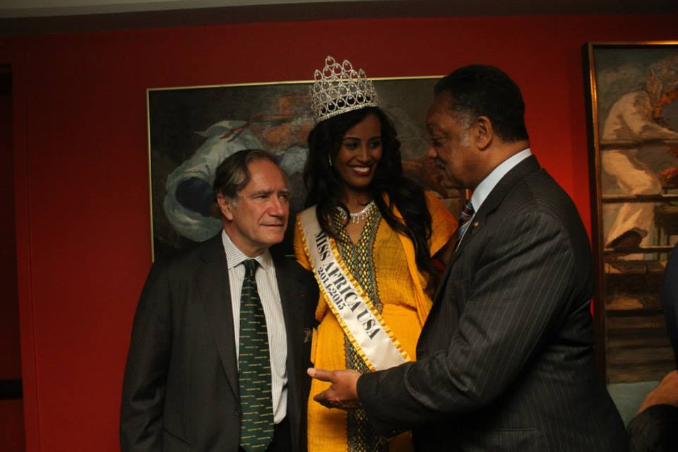 Miss Africa USA, Special Guest at Forbes Magazine's Best of Africa Celebration