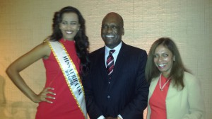 Miss Africa USA Attends Reception at The United Nations Marking The Closing of The 68th General Assembly
