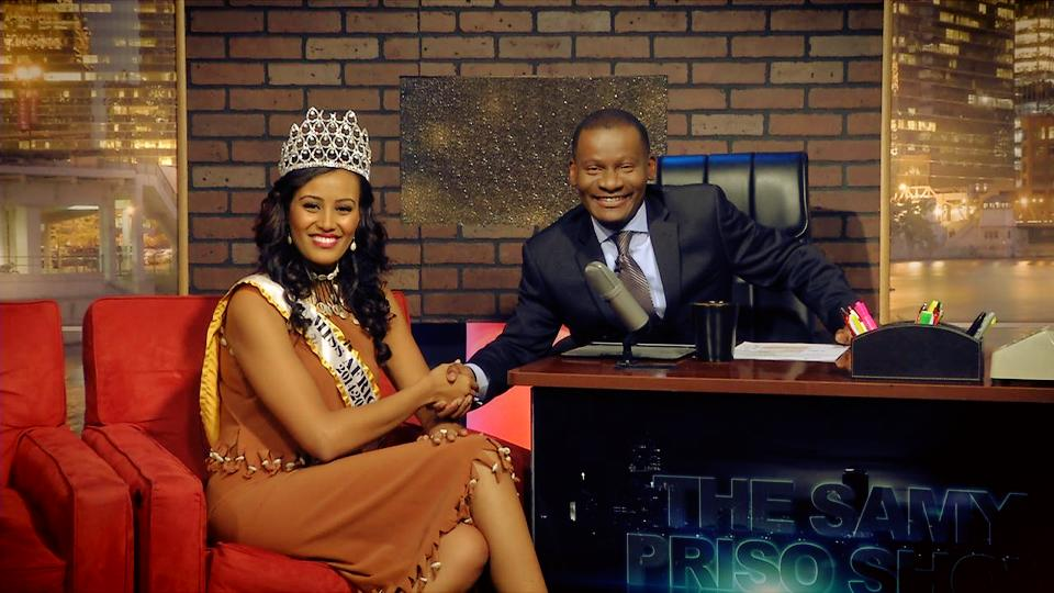 Miss Africa USA Meron Wudneh Exclusive TV Interview: On Afrotainment TV with Samy Priso in Orlando, Florida