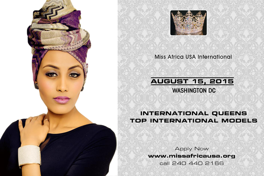 The Inaugural Miss Africa USA International Pageant Draws Scores of Beauty Queens From Africa This Year in Washington DC
