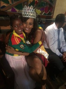 Miss Africa USA Meron Wudneh At Work With Orphans In Ethiopia