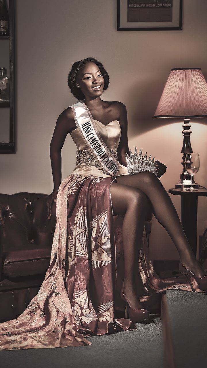 WOMEN'S HISTORY MONTH: Honoring Miss Nora Ndemazia Miss Cameroon USA
