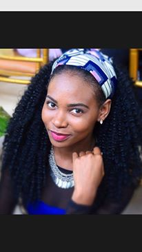 Miss Angola Juliana D'Silva Finalist for Miss Africa USA 2015 – Promoting Beautiful African Hairstyle