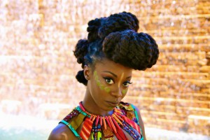 Meet Miss Ghana Akua Tokunboh, Finalist For Miss Africa USA 2015 – Promoting Beautiful African Hairstyle