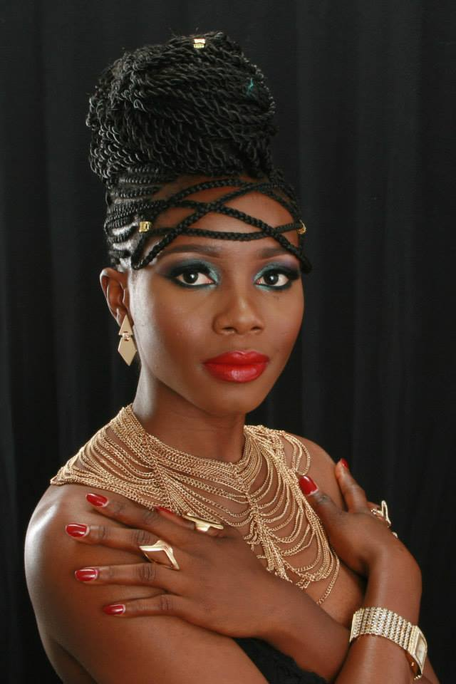 Meet Zeynab Koroma, Miss Senegal, Finalist For Miss Africa USA 2015 – Promoting Beautiful African Hairstyle