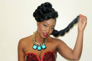 Meet Binty Koroma, Miss Sierra Leone Finalist for Miss Africa USA 2015 – Promoting Beautiful African Hairstyle