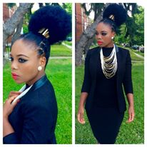 Meet Wendy Nokuthula, Miss South Africa USA, Finalist for Miss Africa USA 2015 – Promoting Beautiful African Hairstyle