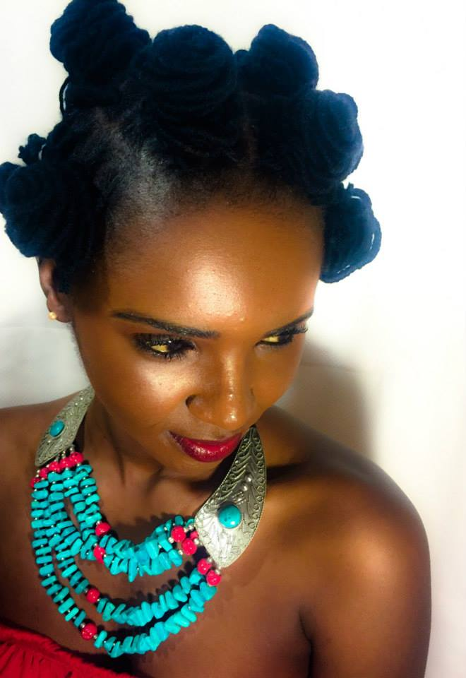 Meet Eyga Mojus, Miss South Sudan, Finalist for Miss Africa USA 2015 – Promoting Beautiful African Hairstyle