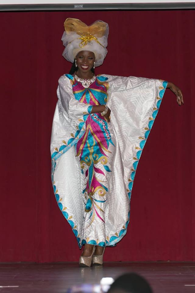 African Couture/High Fashion Parade At Miss Africa USA Pageant 2015
