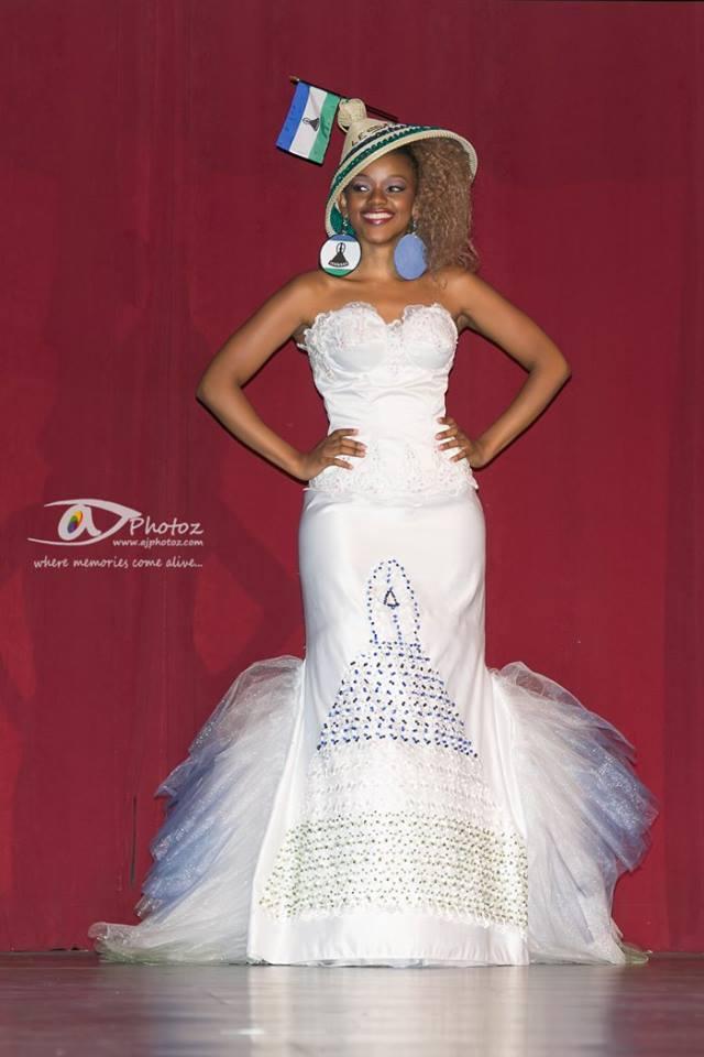 Congratulations: Miss Congeniality Nthabieseng Mpakanyane Miss Lesotho