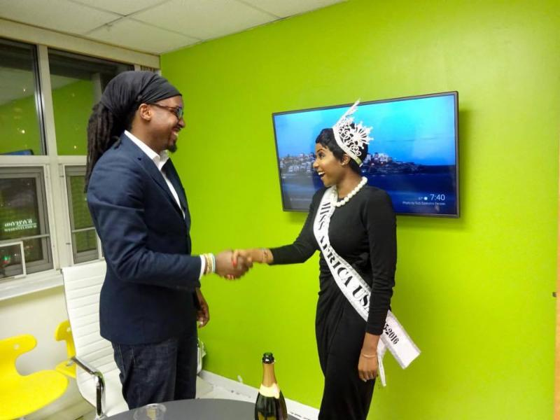Miss Africa USA Gets Her Own Office: An Awesome Gift Offered By IOSPACES.COM