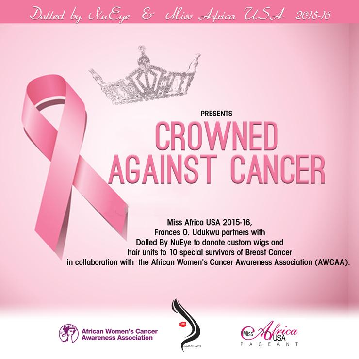 Miss Africa USA, Frances Udukwu Donates Custom Made Wigs To Cancer Survivors