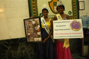 At Embassy Of Tanzania: Miss Africa USA and Miss Tanzania USA Support Childbirth Survival To Eliminate Deaths During Childbirth