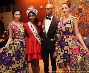 "Miss Africa USA Frances Udukwu Was Special Guest  : ""Fashion Night Out by O'Mak Designs"" At Embassy of Nigeria"