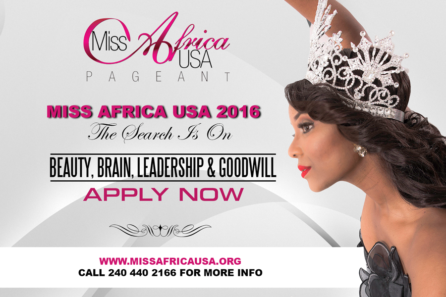 The Search Is On For The Next Miss Africa USA 2016 – 2017