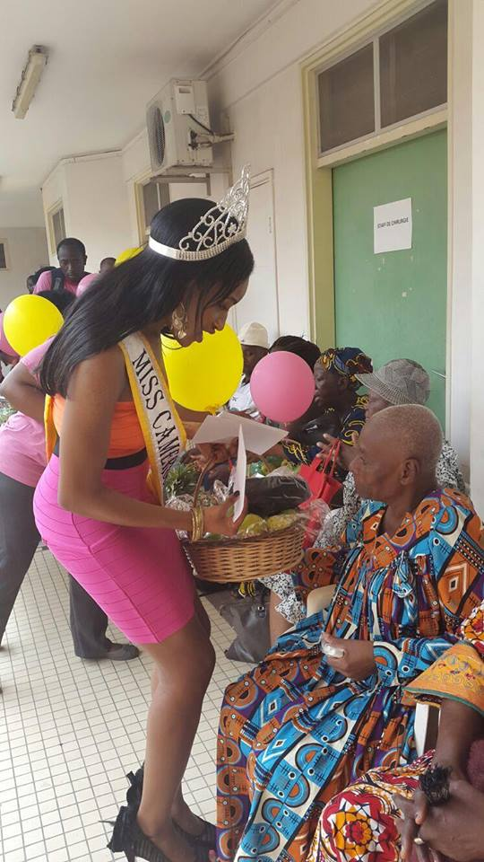 Supporting Cancer Patients In Cameroon: Miss Africa USA 3rd Princess and Reigning Miss Cameroon USA Joins The Fight Against Cancer