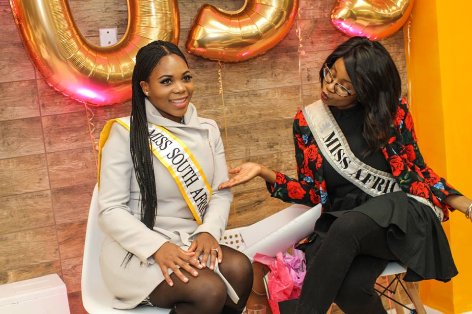 Miss Africa USA Helps Small Business Start-Ups Build Vision and Set Goals For 2016.  She Is All About Promoting Entrepreneurship Among Women and Girls.