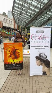 Promoting Disney Movie: Queen of Katwe with Lupita Nyongo'o