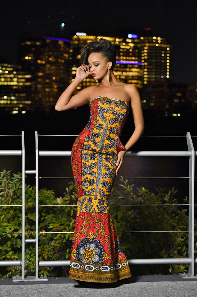 Miss Africa Usa Steps Out In Style Showcasing The Best Of African Fashion Miss Africa Usa