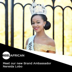 Queen Nereida Lobo, The Reigning Miss Africa USA, Becomes Brand Ambassador For Reel African Media.