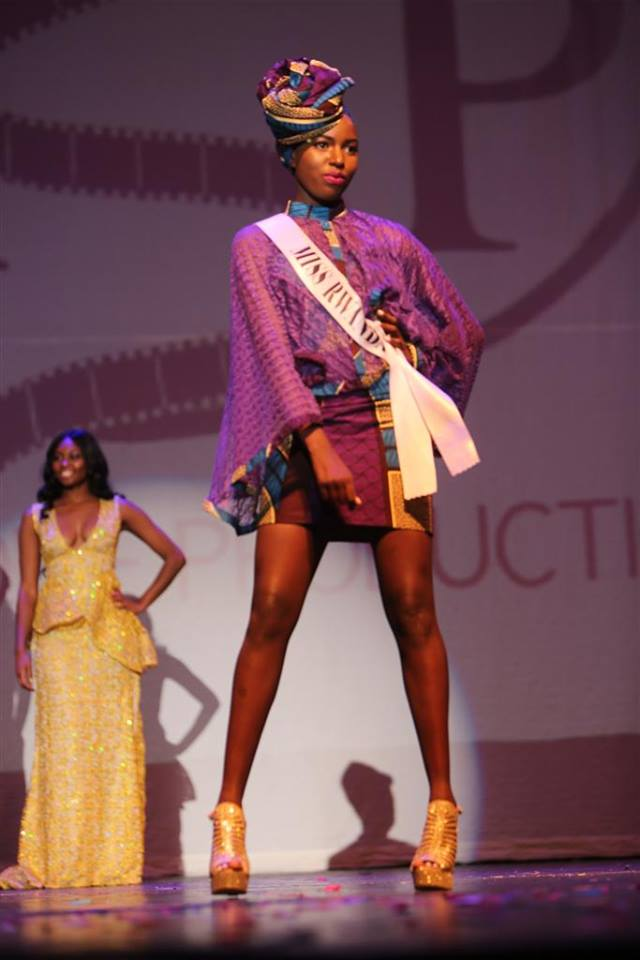 FK Afrique Fashions Debut At Miss Africa USA 2016