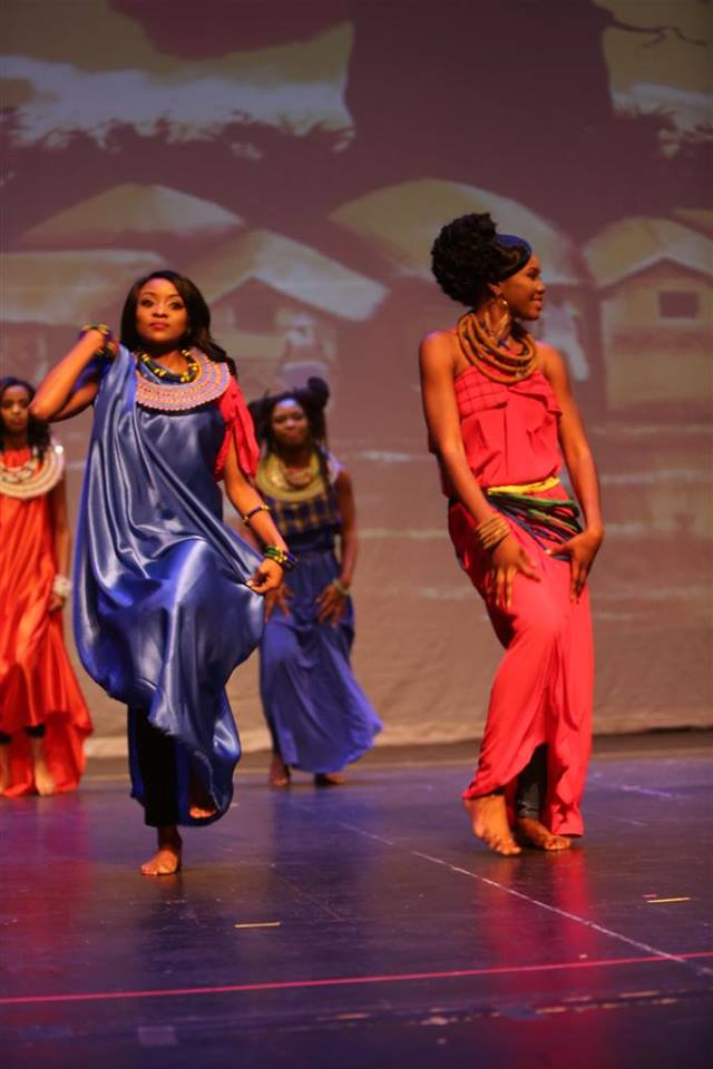 Miss Africa USA Pageant Embraced Authentic Masai Fashions For The Grand Opening of The 2016 Pageant at Howard University