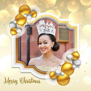 Merry Christmas From The Reigning Miss Africa USA: Nereida Lobo