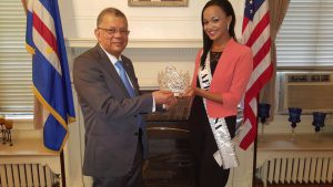 Ambassador of Cape Verde To The United States Congratulates The Queen And Offers His Blessings For Her Humanitarian Work