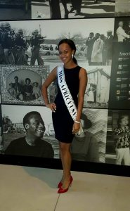 Journey Into History : Queen Nereida Visits The National Museum of African American History and Culture In Honor of Black History Month