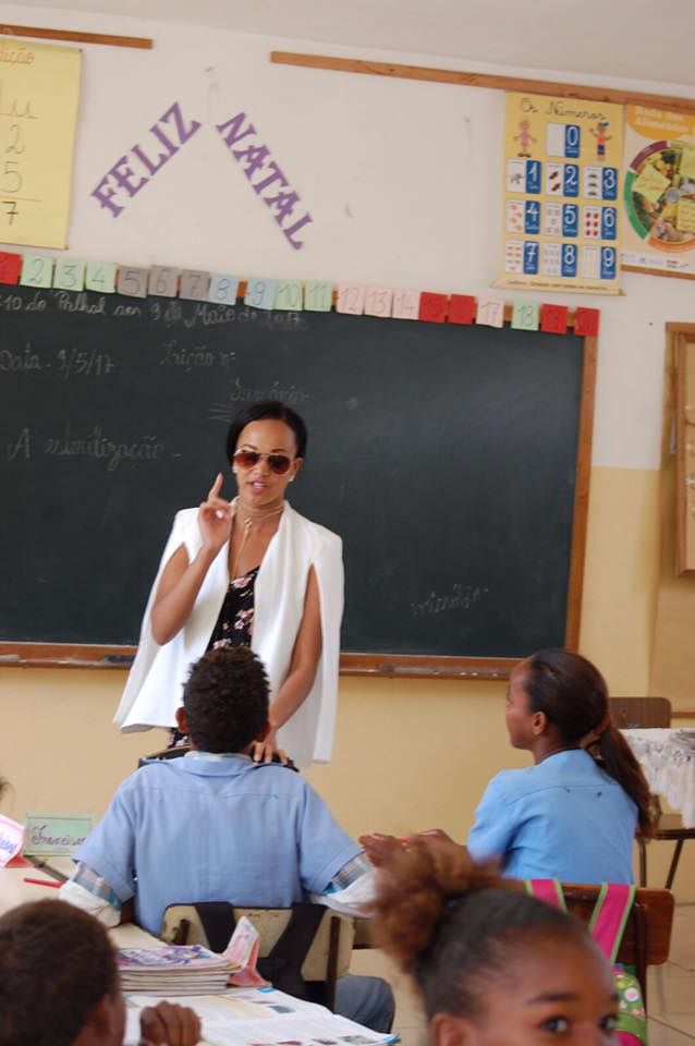 Queen Nereida Lobo Promotes Education In Her Homeland Cape Verde