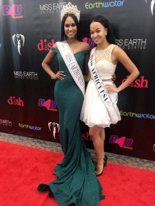 Keeping Up Appearances: Miss Africa USA Spotted At Miss Earth Pageant this Year