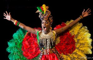 Parade of Nations At Miss Africa USA, Showcasing The Beautiful Colors of Africa