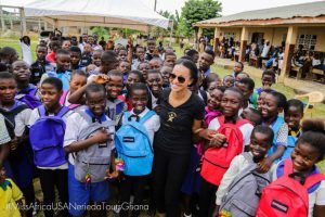 Miss Africa USA Nereida Lobo On Mission Trip to Ghana