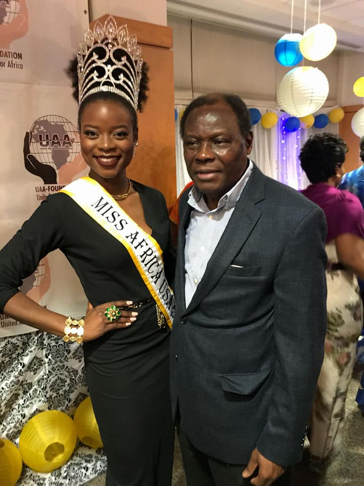 Queen Corinne Missi Joins African Ambassadors For United Aid For Africa Gala in Washington DC