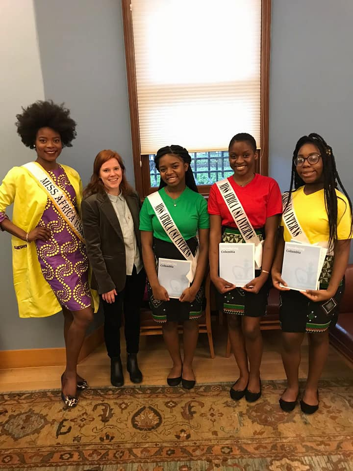 Stepping Into Greatness, Queen Corinne Missi Empowering Young Girls Through The Miss Africa Internship Program