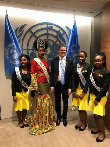 Queen Leads Delegation Of Interns To United Nations Summit 2018