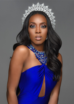 The Reigning Miss United States 2018 Andromeda Peters To Grace The Miss Africa USA Red Carpet Sat August 2018