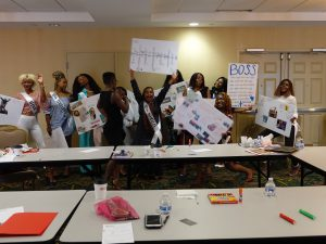 Leadership and Empowerment Workshop at Miss Africa USA 2018 Hosted by Linda Arrey, Author and Women's Advocate