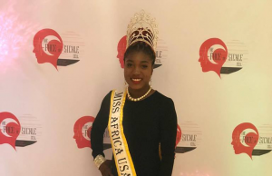 Queen Gboea Flumo The Reigning Miss Africa USA In Support Of Sickle Cell Awareness