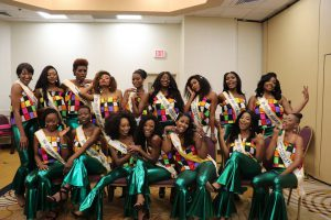 2019 Miss Africa USA Finalists In LaBella Pamela Fashion Design